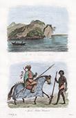 Congo River - Zaire - Roc des F�tiches (Congo) - Soldier - Ashanti - Asante (Guinea)