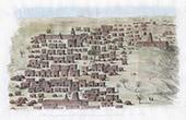 Vy �ver Timbuktu (Mali)