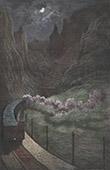 Las Gargantas - Railway - Gorge of Pancorbo - Province of Burgos - Castile and Le�n (Spain)