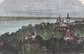Ansicht von Kiew - Kloster (Ukraine)