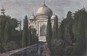 Taj Mahal - Mausoleum - Grave of Sha Jahan - Agra (India)