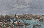 View of Marseille - The Old Port - Notre-Dame-de-la-Garde (France)