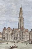 View of Arras - Belfry - Bell Tower - Nord-Pas-de-Calais (France)