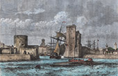 View of La Rochelle - Port - Sailboat - Charente-Maritime (France)