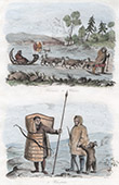 Sib�ria - Sledge drawn by Dogs - Chukchi people - Ethnic group (Russia)