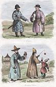 Mongolia - Oirats - Eleuths - Costume - Chinese Muslim - Asia