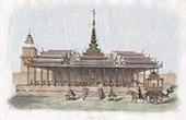 Myanmar - Palast von Ava - Turm