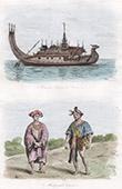 Myanmar - Schaluppe - Schiff - Karer - Kostüm - Tracht