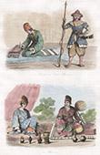 Myanmar - Birma - Burma - Traditionelle Kleidung - Minister - Krieger - Schriftsteller