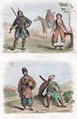 Cirkassien - Tscherkessen - Zirkassier - Armenisch - Abaze - Kost�m - Tracht (Kaukasien)