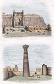 Festung - Zitadelle Ark - Palast des Khan von Buxoro - Minarett von Mirghabad - Usbekistan (Tatarei)