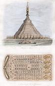 Tempel von Bago - Pegu - Siddhartha Gautama - Prägung des Fußes des Gaoutama (Myanmar)