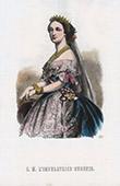 Portr�t von Kaiserin Eug�nia - Eug�nie de Montijo (1826-1920)