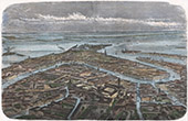 Campaign in Italy - 1859 - Franco-austrian War - General View of Venice (Italy)