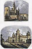 Campaign in Italy - 1859 - Franco-austrian War - Arsenal of Mantua - Ferrare Castle (Italy)