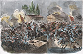 Campaign in Italy - 1859 - Franco-austrian War - Napoleon III - Battle of Palestro - Zouaves (May 31th 1859)