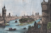 Paris - View of the Ile de la Cit� at the 15th Century