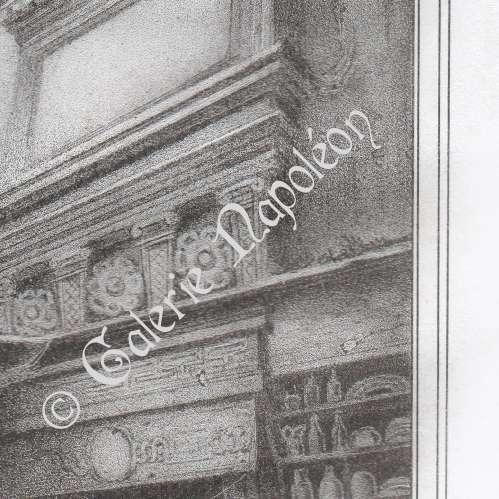 gravures anciennes int rieur d 39 une cuisine morlaix finist re bretagne france. Black Bedroom Furniture Sets. Home Design Ideas