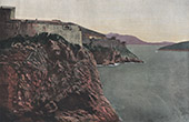 Adriatic Sea - View of Ragusa - Dubrovnik - San Lorenzo (Croatia)