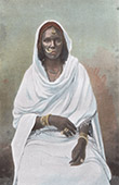 Nubian woman - Costumes - Traditions - Egypt - Sudan - Nile