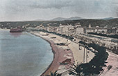 View of Nice - C�te d'Azur - French Riviera - Italy (France)