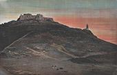Vy �ver Oran -  Fort av Santa-Cruz (Algeriet)