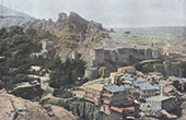 Ansicht von Tiflis - Tbilissi - Ruine von festung (Georgien)