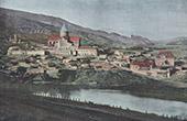 Ansicht von Mtzkhet - Mtskheta - Mittelalterliche Hauptstadt Georgiens (Georgien)