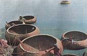 Kouffehs auf dem Euphrat Fluss - Boot korb (Asien)