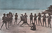 Papua-Neuguinea - Papuanische Tänzer