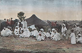 Douar of Frendah - Nomad camp - Sheikh (Algeria)