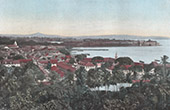 View of Fort-de-France (Martinique - French overseas department)