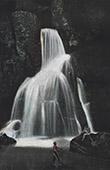 Martinique - Antillen -  franz�sisch �bersee-Departement - Lezarde Wasserfall
