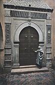 Tunis - Gate of Khaznadar Palace (Tunisia)