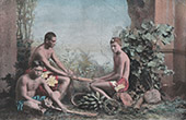 French Polynesia - Tahiti - Tradition - Natives - Bourao