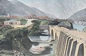 Ansicht von Kasbek (Georgien)