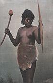 Australiani Aborigeni - Donna con le Armi del suo Marito (Australia)