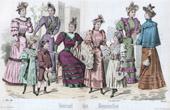 Modestich - Paris - 1893 - Mademoiselle Thirion - Madame Emma Guelle - Madame Taskin