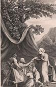 Bible - Old Testament - Jacob blesses the Joseph's children