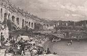 View of Nîmes - Roman Amphitheatre - Languedoc-Roussillon ( France)