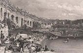View of N�mes - Roman Amphitheatre - Languedoc-Roussillon ( France)