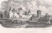 Castle of Chareil-Cintrat - Chantelle - Allier - Auvergne (France)
