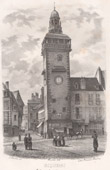 Jacquemart - Clock Tower at Moulins - Allier - Auvergne (France)