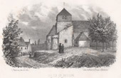 Church at Besson - Souvigny - Moulins - Allier - Auvergne (France)