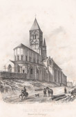 Church at Saint-Menoux - Souvigny - Moulins - Allier - Auvergne (France)
