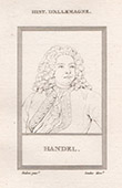 Portrait of George Frideric Handel (1685-1759)
