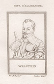 Portrait of Albrecht von Wallenstein - Waldstein (1583-1634)