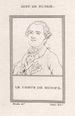 Portrait of Burckhardt Christoph von M�nnich (1683-1767)