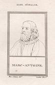 Portrait of Marcantonio Raimondi (1480-1534)