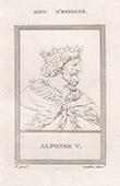 Portrait of Alfonso V of Aragon (1394-1458)